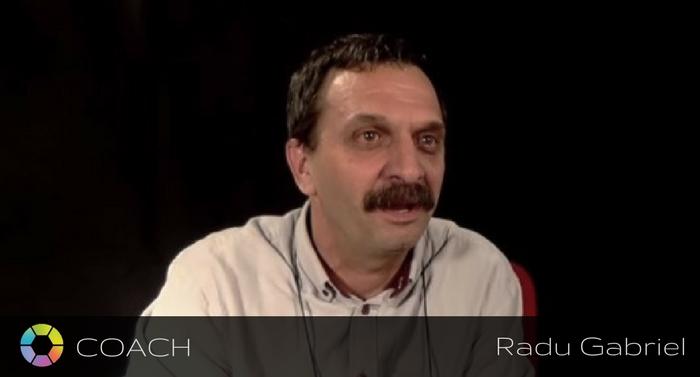 Coach Radu Gabriel