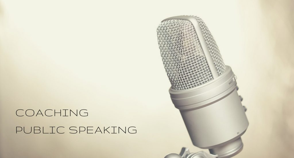 Coaching in Public Speaking